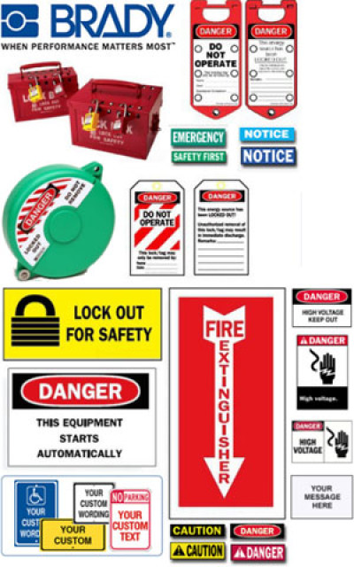 Brady WorkPlace Safety and Security Accessories