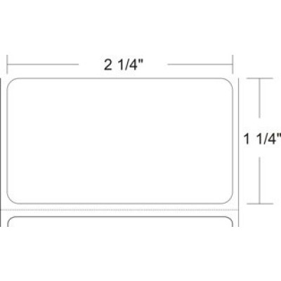 DTL2212P5 - AirTrack  Thermal Label